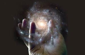 hand-galaxy